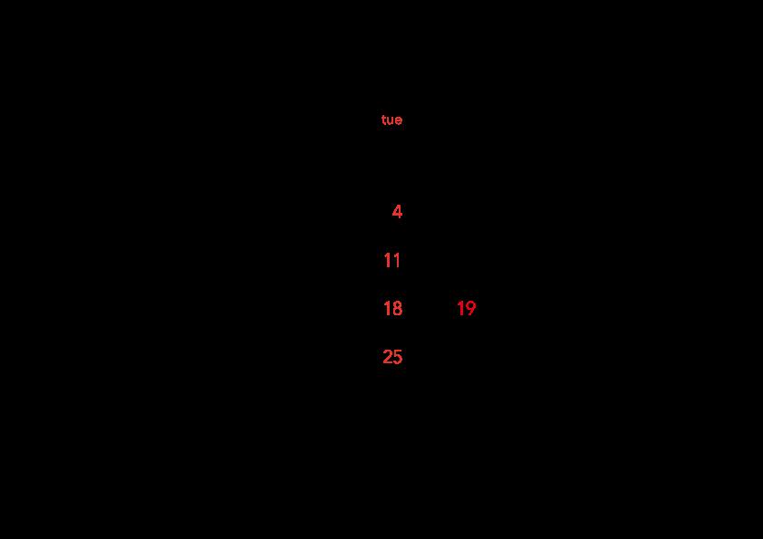 カレンダー201704_